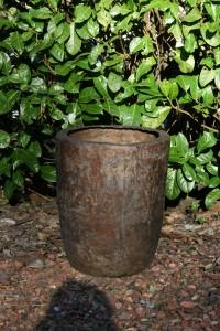 Opdracht bronzen tuinvaas